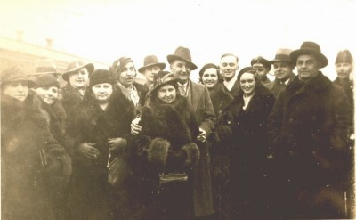 The Family Leaving Manchuria about 1935